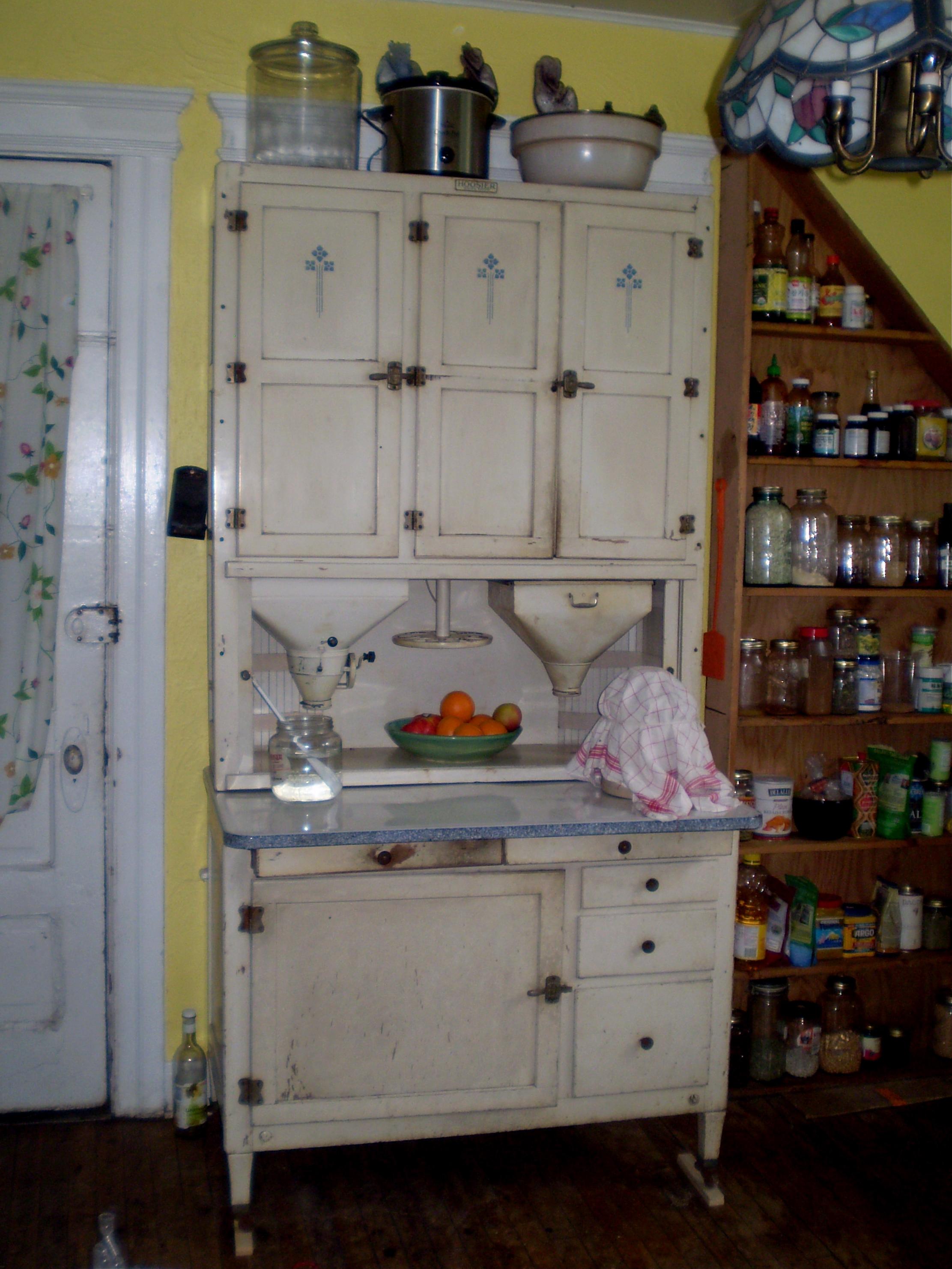 Wilson Kitchen Cabinet Hoosier Hooiser Cabinet Little House On The Urban Prairie
