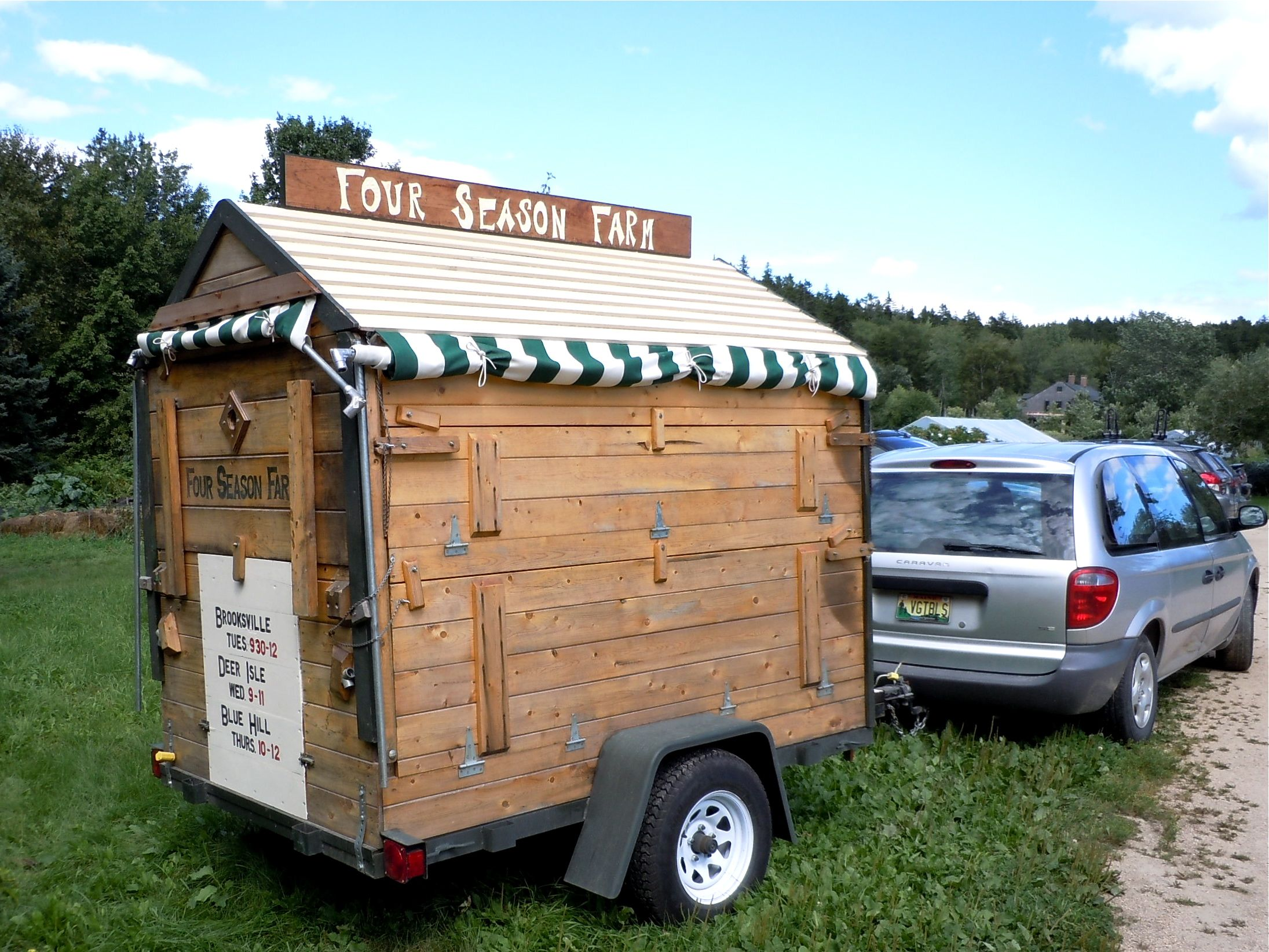 Farmers Market Portable Toilet : Season farm visit little house on the urban prairie