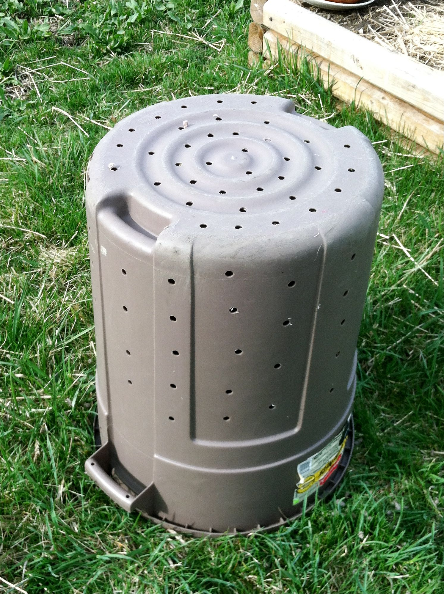 Diy Trash Can Composter Plans Pdf Download Horizontal