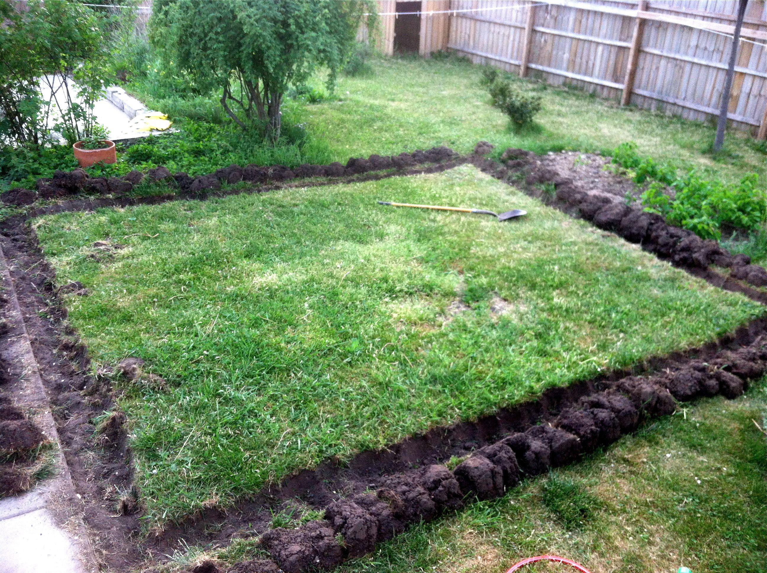 Garden Bed Trench Garden Ftempo